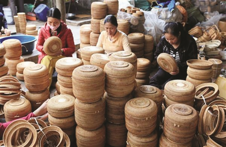 Exports-of- bamboo-and-rattan- products